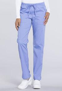 Mid Rise Straight Leg Drawstring Pant (WW160P-CIE)