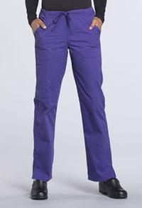 Mid Rise Straight Leg Drawstring Pant (WW160P-GRP)