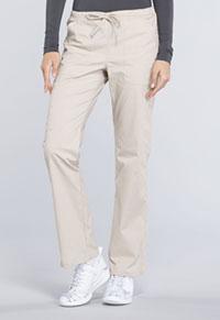 Mid Rise Straight Leg Drawstring Pant (WW160P-KAK)
