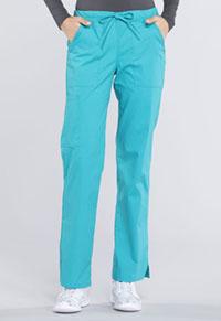 Mid Rise Straight Leg Drawstring Pant (WW160P-TLB)