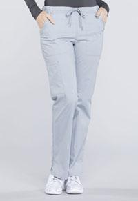 Mid Rise Straight Leg Drawstring Pant (WW160T-GRY)