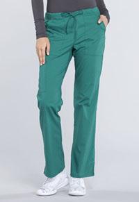 Mid Rise Straight Leg Drawstring Pant (WW160T-HUN)