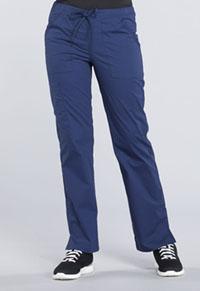 Mid Rise Straight Leg Drawstring Pant (WW160T-NAV)