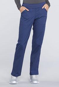 Mid Rise Straight Leg Pull-on Cargo Pant (WW170T-NAV)