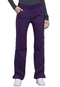 Workwear WW Professionals Mid Rise Straight Leg Pull-on Cargo Pant (WW170-EGG) (WW170-EGG)
