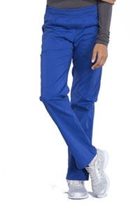 Cherokee Workwear Mid Rise Straight Leg Pull-on Cargo Pant Galaxy Blue (WW170-GAB)