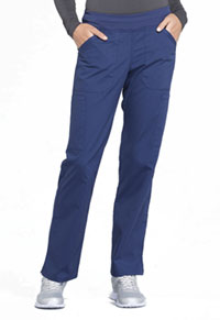 Workwear WW Professionals Mid Rise Straight Leg Pull-on Cargo Pant (WW170-NAV) (WW170-NAV)