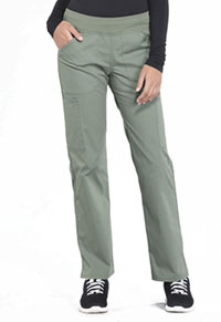Workwear WW Professionals Mid Rise Straight Leg Pull-on Cargo Pant (WW170-OLV) (WW170-OLV)