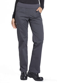 Workwear WW Professionals Mid Rise Straight Leg Pull-on Cargo Pant (WW170-PWT) (WW170-PWT)