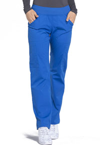 Workwear WW Professionals Mid Rise Straight Leg Pull-on Cargo Pant (WW170-ROY) (WW170-ROY)