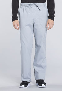 Men's Tapered Leg Drawstring Cargo Pant (WW190S-GRY)