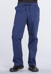 Men's Tapered Leg Drawstring Cargo Pant (WW190S-NAV)