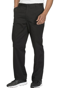 Cherokee Workwear Men's Fly Front Pant Black (WW200-BLKW)