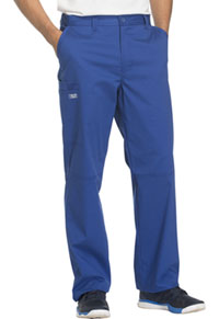 Cherokee Workwear Men's Fly Front Pant Galaxy Blue (WW200-GABW)