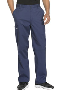 Cherokee Workwear Men's Fly Front Pant Navy (WW200-NAVW)