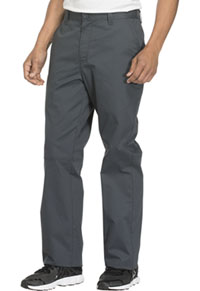 Cherokee Workwear Men's Fly Front Pant Pewter (WW200-PWTW)