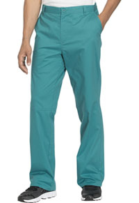 Cherokee Workwear Men's Fly Front Pant Teal Blue (WW200-TLBW)