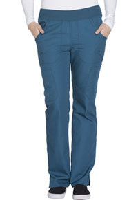 Mid Rise Straight Leg Pull-on Cargo Pant (WW210P-CARW)