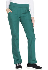 Mid Rise Straight Leg Pull-on Cargo Pant (WW210P-HUNW)