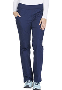 Mid Rise Straight Leg Pull-on Cargo Pant (WW210P-NAVW)