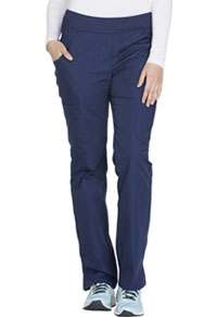 Cherokee Workwear Mid Rise Straight Leg Pull-on Cargo Pant Navy (WW210-NAVW)