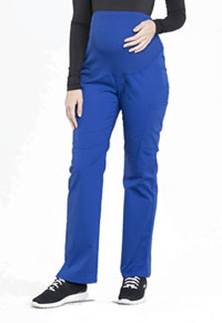 Cherokee Workwear Maternity Straight Leg Pant Galaxy Blue (WW220-GAB)