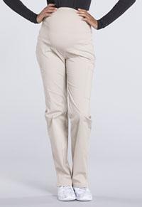 Cherokee Workwear Maternity Straight Leg Pant Khaki (WW220-KAK)