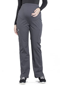 Cherokee Workwear Maternity Straight Leg Pant Pewter (WW220-PWT)