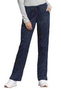 3c5951070c77d Cherokee Workwear Mid Rise Straight Leg Drawstring Pant Navy WW235AB-NAV. WW  Revolution Tech
