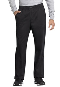 WW Revolution Tech Men's Mid Rise Straight Leg Zip Fly Pant (WW250ABT-BLK) (WW250ABT-BLK)