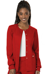 WW Revolution Snap Front Jacket (WW310-RED) (WW310-RED)