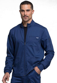 Men's Zip Front Jacket Navy (WW320-NAV)