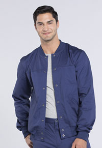 Cherokee Workwear Men's Warm-up Jacket Navy (WW330-NAVW)