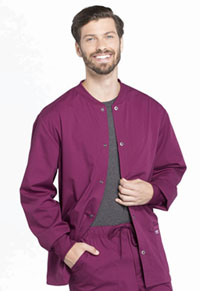 Men's Warm-up Jacket Wine (WW360-WIN)