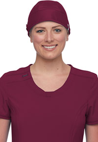 Cherokee Workwear Scrubs Hat Wine (WW507AB-WIN)