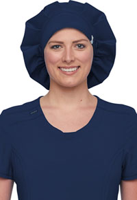 Cherokee Workwear Bouffant Scrubs Hat Navy (WW508AB-NAV)