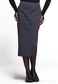"Workwear WW Professionals 30"" Knit Waistband Skirt (WW510-PWT) (WW510-PWT)"
