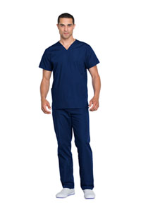 Cherokee Workwear Unisex Top and Pant Set Navy (WW530C-NAVW)