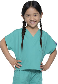 Cherokee Workwear Kids' Scrub Set Surgical Green (WW540C-SGRW)