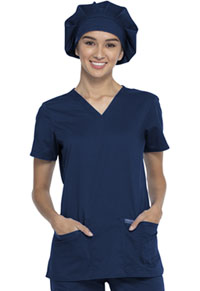 Cherokee Workwear Bouffant Scrubs Hat Navy (WW550-NAV)
