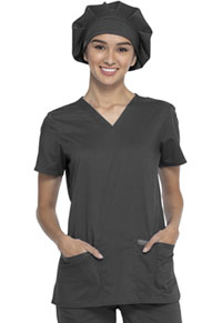 Cherokee Workwear Bouffant Scrubs Hat Pewter (WW550-PWT)
