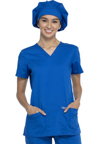 Cherokee Workwear Bouffant Scrubs Hat Royal (WW550-ROY)