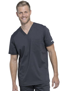 WW Revolution Men's V-Neck Top (WW603-PWT) (WW603-PWT)