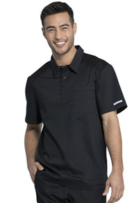 Cherokee Workwear Men's Polo Shirt Black (WW615-BLK)