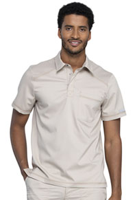 Cherokee Workwear Men's Polo Shirt Khaki (WW615-KAK)