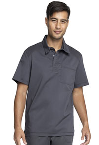 Cherokee Workwear Men's Polo Shirt Pewter (WW615-PWT)