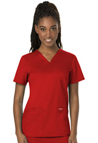 WW Revolution V-Neck Top (WW620-RED) (WW620-RED)