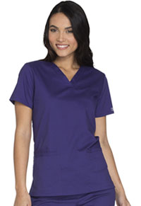 V-Neck Top (WW630-GRPW)