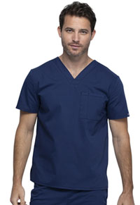 Cherokee Workwear Unisex V-Neck Top Navy (WW644-NAV)