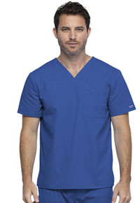 Cherokee Workwear Unisex V-Neck Top Royal (WW644-ROY)